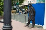 Las estatuas están por toda la ciudad. Estimo, fueron hechas para convencer a alguien -sin éxito- de las bellezas de este lugar.