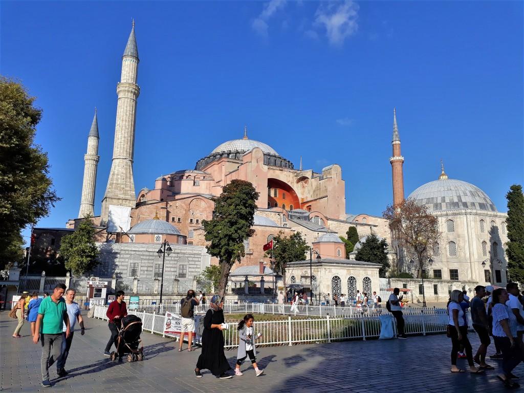 Santa Sofía en Estamubul
